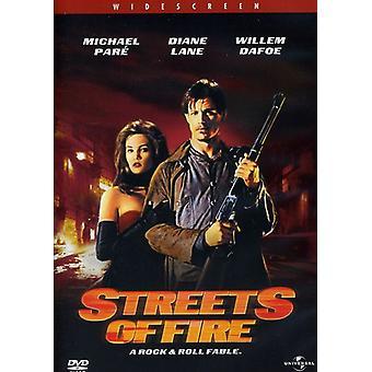 Calles de fuego [DVD] USA importar