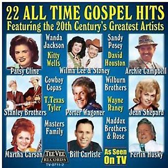 22 All Time Greatest Gospel Hits - 20 All Time Greatest Gospel Hits [CD] USA import