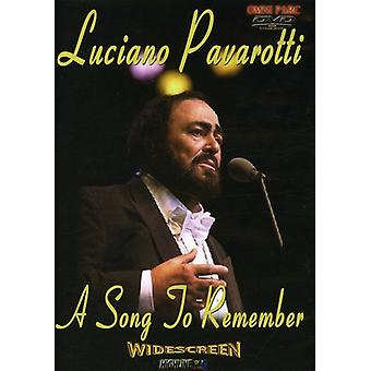 Luciano Pavarotti - Song to Remember [DVD] USA import