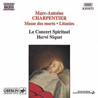 M. Charpentier - Charpentier: Messe Des Morts; Litaneien [CD] USA importieren