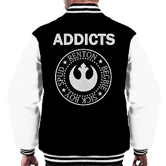 Trainspotting T2 Addicts Ramones Logo Men's Varsity Jacket