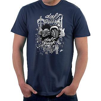 Daft Punk młodzieży są coraz niespokojnych Men's T-Shirt