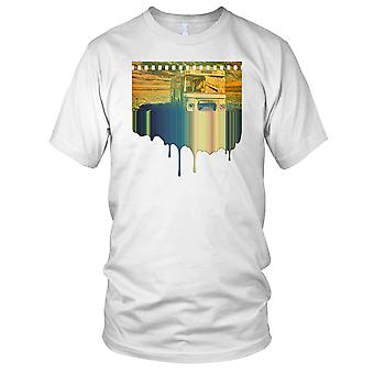 Bus a Nowhere psichedelico Mens T-Shirt
