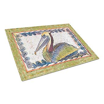 Carolines Treasures  8057LCB Pelican  Glass Cutting Board Large