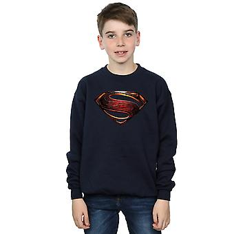 DC Comics Boys Justice League Movie Superman Emblem Sweatshirt