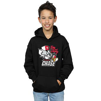 Tom And Jerry Boys Cat & Mouse Chase Hoodie