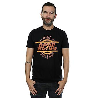 AC/DC Men's High Voltage Distressed Logo T-Shirt