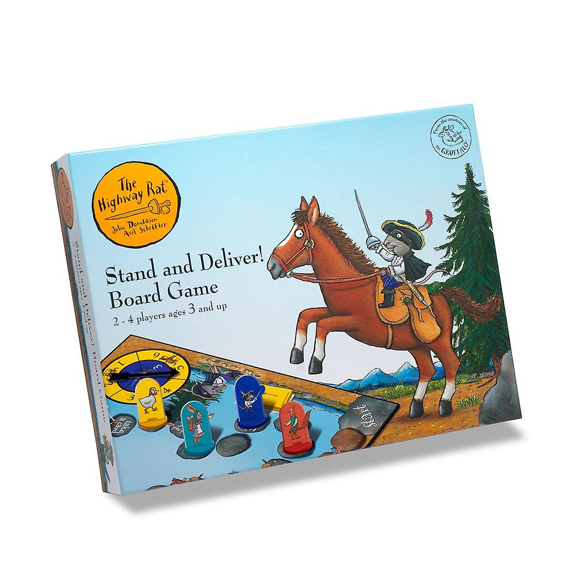 The Highway Rat - Stand and Deliver! Board Game