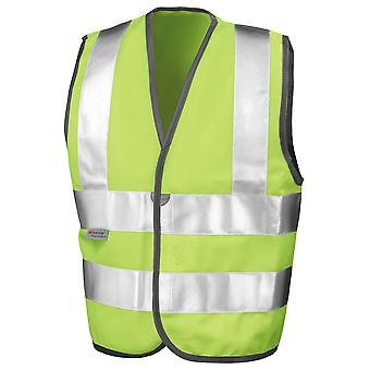 Result Kids Childrens High Visibility Viz Safety Vest EN1150 class 2 approved