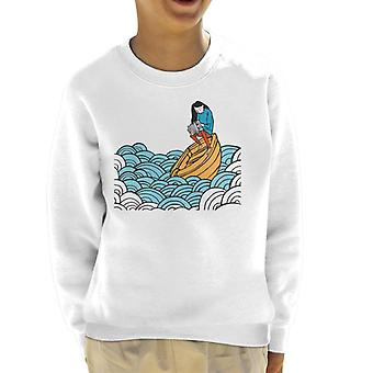 Must Read Book Covers No Matter The Wreckage Kid's Sweatshirt