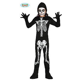 Guirca skeleton costume for children