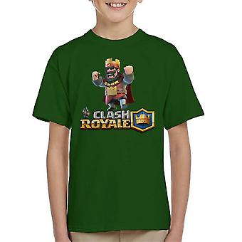 Clash Of Clans Royale King Kid's T-Shirt