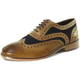 London Brogues Watson Mens Lace Up Brogue Shoes  AND COLOURS