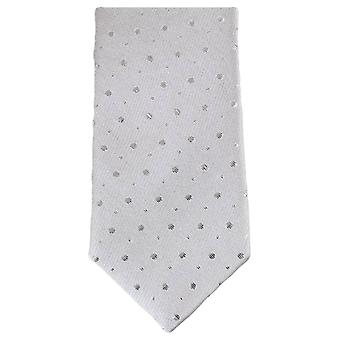 Knightsbridge halsdukar Glitter smal slips - Silver
