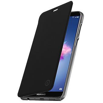 Muvit caso magro, aleta capa crystal case para Huawei P Smart - preto