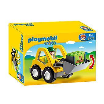 Playmobil 6775 Graafmachine met Werkman