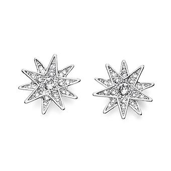Oliver Weber Post Earring Sissi Rhodium Crystal