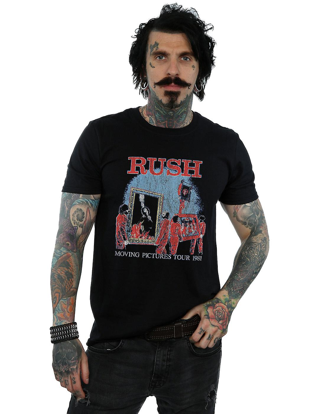 Rush Men's Moving Pictures Tour T-Shirt
