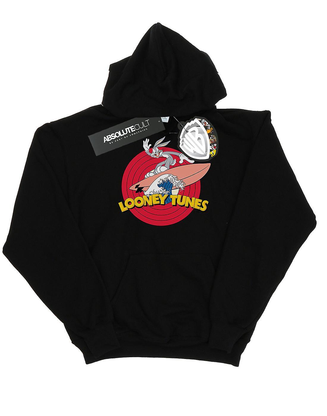 Looney Tunes Women's Bugs Bunny Surfing Hoodie