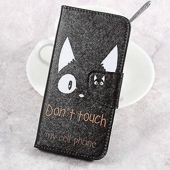 Sony Xperia XA1 Plånboksfodral - Do Not Touch My Phone