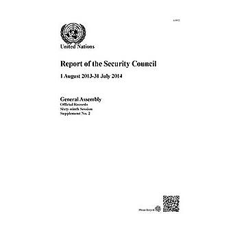 Betänkande av säkerhetsrådet av Förenta nationerna - avdelningen av Gener