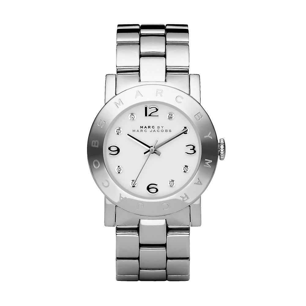 Marc By Marc Jacobs Amy Ladies Watch - MBM3054 - White/Silver