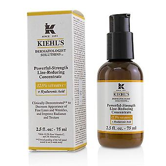 Kiehl's Dermatologist Solutions Powerful-strength Line-reducing Concentrate (with 12.5% Vitamin C + Hyaluronic Acid) - 75ml/2.5oz
