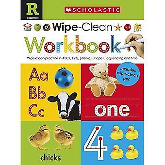 Scholastic Early Learners: Wipe Clean Workbook (Reception)