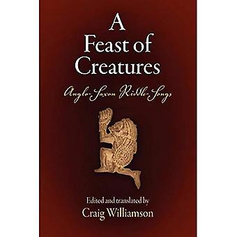 Una fiesta de criaturas: canciones de Enigma anglosajón