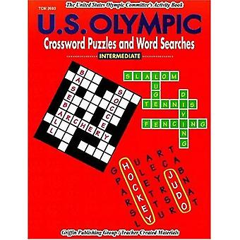 U. S. Olympic Crossword Puzzles and Word Searches : Intermediate