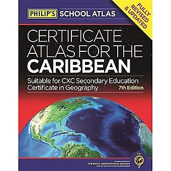 フィリップのカリブ海の地図の証明書: 第 7 版