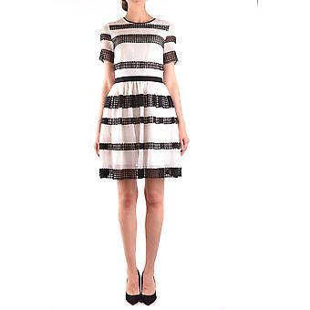 Michael Kors Ezbc063050 Women's White Cotton Dress