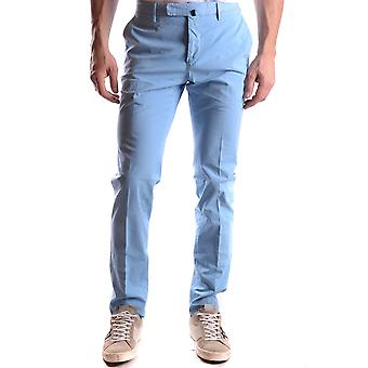 Incotex Ezbc093013 Men's Light Blue Cotton Pants