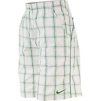 Nike Men's Net Plaid 10 Woven Shorts 447069-102