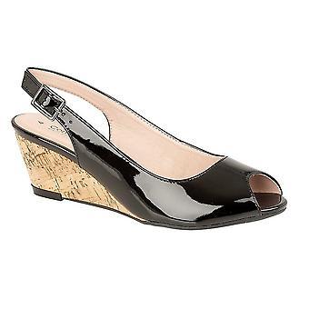 Cipriani Womens/Ladies Leana boucle Wedge talon sandales