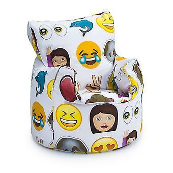 Per bambini emoji design riempito Bean Bag Chair