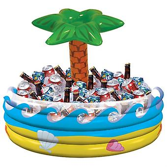 Inflatable drink coolers, the Hawaii 72 cm beer cooler inflatable coolers with Palm