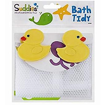 Suddies Bath Tidy Net Avec Duck Suction Cups