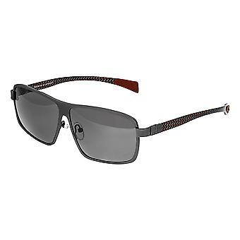 Rasse Finlay Titanium polarisiert Sonnenbrille - Gunmetal/schwarz