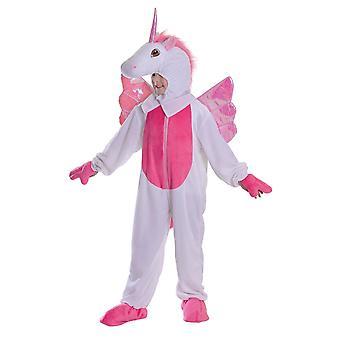 Bristol nieuwigheid meisjes gevleugelde Unicorn kostuum