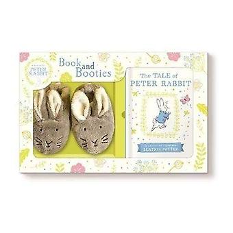 Tale of Peter Rabbit Book and First Booties Gift Set