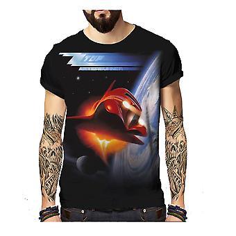 Born2rock - afterburner zz top - mens t-shirt