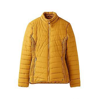 Joules Harrogate chaqueta acolchada para mujer - caramelo