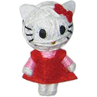Cell Phone Charm - Hello Kitty - Red Dress String Doll vd-hk-0001