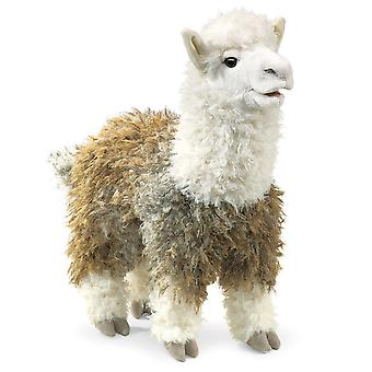 Hand Puppet - Folkmanis - Alpaca New Animals Soft Doll Plush Toys 2953