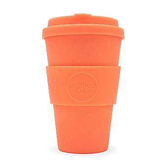 Ecoffee eco-vriendelijke 14oz 400ml herbruikbare natuurlijke bamboe Fibre thee & Koffie cups met siliconen deksel top voor reizen & Home-diverse kleuren