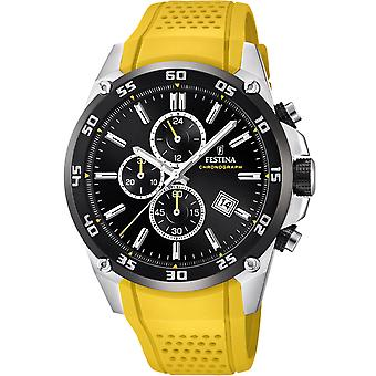 Festina Original Quartz Analog Man Watch z silikonową bransoletą F20330/3