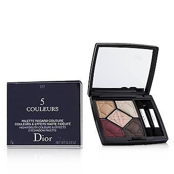 Christian Dior 5 Couleurs High Fidelity färger & effekter Eyeshadow Palette - # 777 upphöja Matte - 7g/0,24 oz