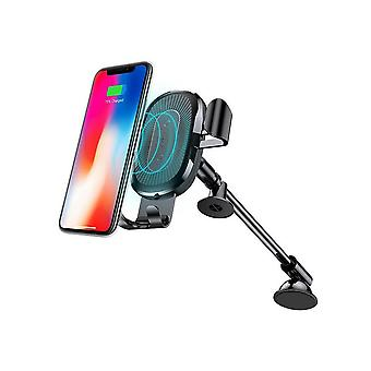 Wireless Charger Gravity Car Mount holder Black