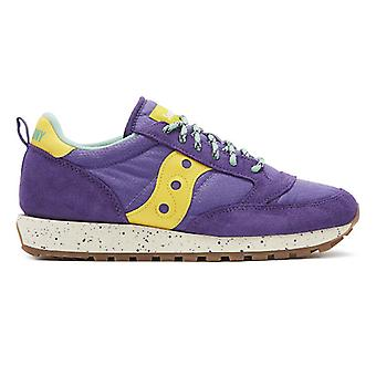 Saucony Jazz Original Outdoor Herren lila / gelb Trainer